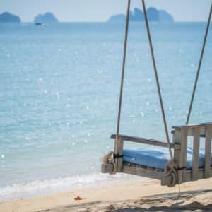 Individuelles Inselhüpfen in der Bucht von Phang Nga ab Phuket: opinion: Beach Swing