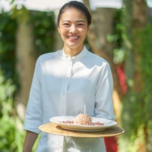 Let's Sea Hua Hin Al Fresco Resort: Birthday Cake Service