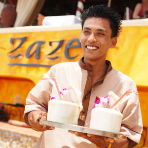 Zazen Boutique Resort & Spa in Ko Samui: Cheers