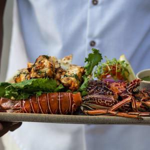 Taj Exotica Resort & Spa in Andamanen: Dish