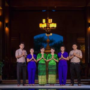 Bagan Lodge: Friendly Staff