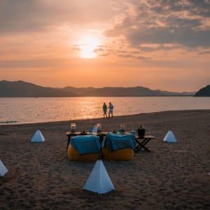 Six Senses Yao Noi in Ko Yao:  Island Sunset