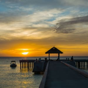 The Royal Sands Koh Rong in Sihanoukville & Inseln: Jetty Sunset