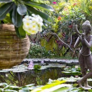 Ngapali Bay Villas & Spa: Pond