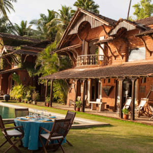 Ahilya by the Sea in Goa: Pool and Garden