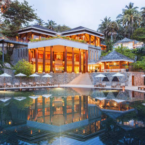 The Surin in Phuket: Pool and Restaurant