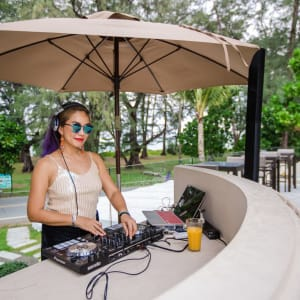Dewa Phuket: Pool Bar with DJ