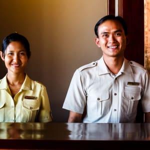 Bagan Lodge: Reception