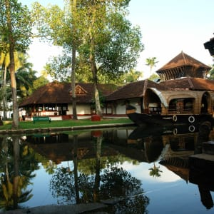 Coconut Lagoon in Kumarakom: Resort mood