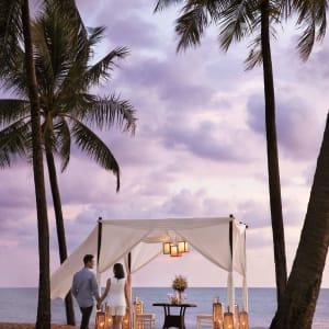 JW Marriott Khao Lak Resort & Spa: Romantic Beach Dinner