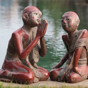 Ahilya by the Sea in Goa: Sculptures