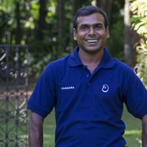 The Wallawwa in Colombo: Smiling staff