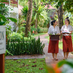 Paradise Beach Resort in Ko Samui: Spa Staff