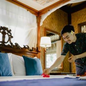 Alam Indah à Ubud: Staff