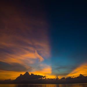 Taj Exotica Resort & Spa in Andamanen: Sunrise