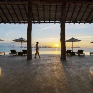 Six Senses Yao Noi in Ko Yao:  Sunrise View from The Hilltop