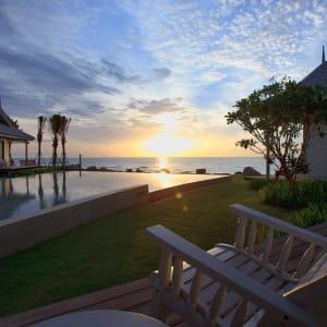Devasom Hua Hin Resort: Sunset