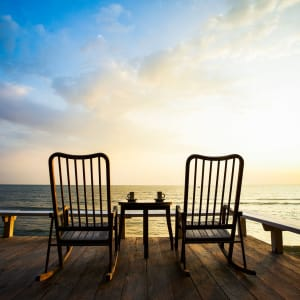 Let's Sea Hua Hin Al Fresco Resort:  Sunset