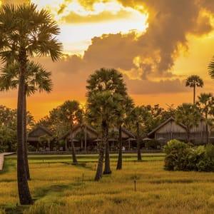 Phum Baitang in Siem Reap: Sunset