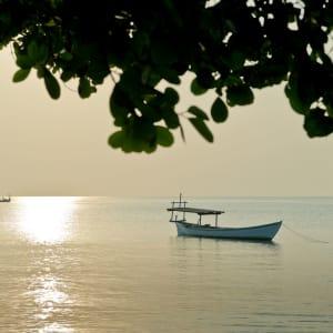 Knai Bang Chatt in Kep:  Sunset Mood Shot