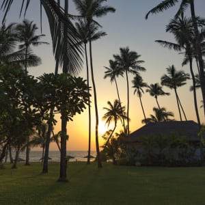 Ngapali Bay Villas & Spa: Sunset View from the Room