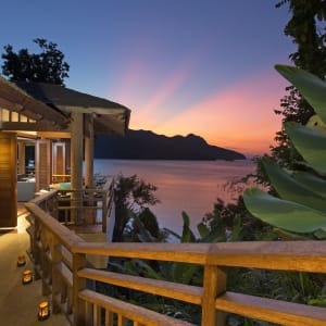 The Andaman in Langkawi: Sunset View from V Botanical Spa