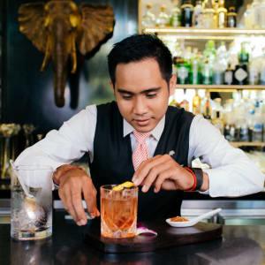 Raffles Hotel Le Royal in Phnom Penh: The Elephant Bar