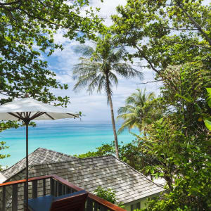 The Surin in Phuket: View to the beach
