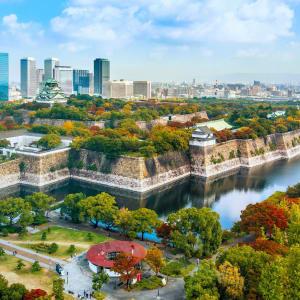 Circuit en groupe «L'éclat du Japon» de Tokyo: Osaka Castle