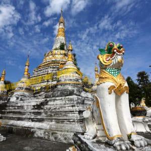 Circuit en voiture de location Mae Hong Son de Chiang Mai: Pai: Wat Luang
