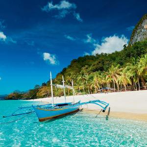 D'île en île individuellement aux Philippines de Manille: Palawan El Nido