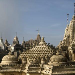 L'état inconnu de Gujarat de Ahmedabad: Palitana: Jain Temple