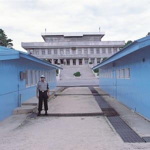 Circuit en groupe «Découverte du Japon et de la Corée du Sud» de Séoul: Panmunjon: demarcation line