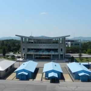 Grand circuit en Corée du Nord de Pyongyang: Panmunjon: demarcation line (DMZ)
