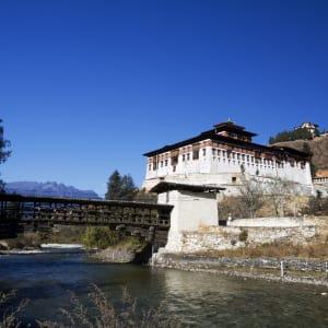 Bhutan - Land und Legenden ab Paro: Paro: Dzong