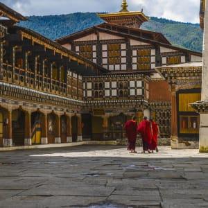 Découverte active du Bhoutan de Paro: Paro Rinpung Dzong