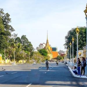 Stadtrundfahrt mit dem Tuk-Tuk in Phnom Penh: Phnom Penh Main Street
