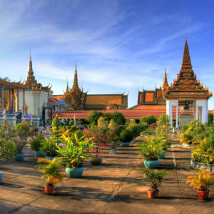 Stadtrundfahrt Phnom Penh: Phnom Penh Royal Palace
