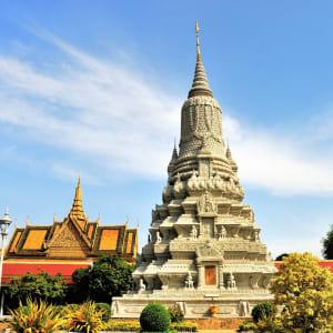 Von Angkor nach Phu Quoc ab Siem Reap: Phnom Penh Silver Pagoda