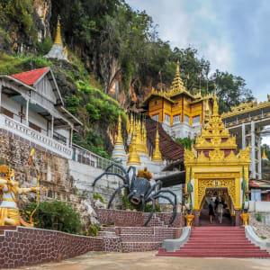 Le Myanmar authentique de Yangon: Pindaya Caves