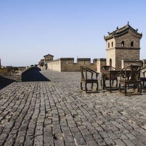 Les hauts lieux de la Chine de Pékin: Pingyao City Wall