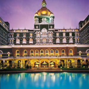 The Taj Mahal Palace in Mumbai: