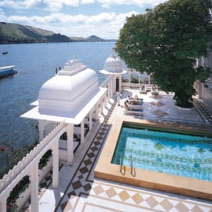Taj Lake Palace in Udaipur: