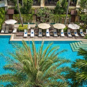 Burasari à Phuket: Aerial shot of the Pool