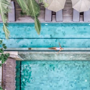 Batu Karang Lembongan Resort & Spa in Nusa Lembongan: Batu Karang Pools