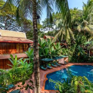 Angkor Village Hotel à Siem Reap: Freeform Pool