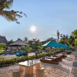 Vila Ombak in Gili: Hidden Pool with Bar