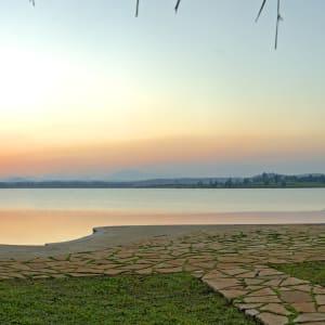 Evolve Back Kuruba Safari Lodge à Parc national de Nagarhole: Infinity Pool