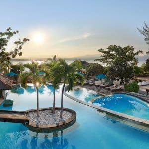 Vila Ombak à Gili: Island Pool with Bar