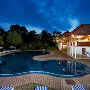 The Travancore Heritage in Kovalam: Main Pool